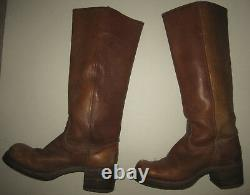 1970s Womens Vintage Campus Frye Boots 7B #8190 Original owner & soles 17 Tall