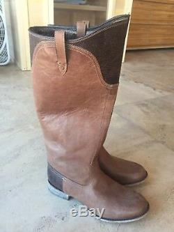 $300 Ariat Womens Brown Riding Boots Worn Once Size 8B