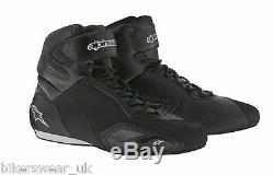 Alpinestars FASTER 2 Black Commuter Motorcycle Riding Shoe Boots US Sizes SALE
