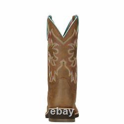 Ariat 10018676 Delilah 10 Wide Square Toe Western Cowgirl Fashion Riding Boots