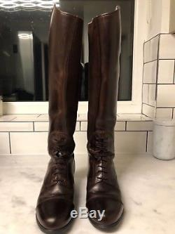 Ariat Bromont tall riding boot (chocolate) size 3.5 excellent condition