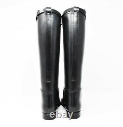 Authentic Hermes Botte Jumping Box Noir Riding style Boots