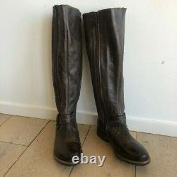 Bed Stu Tall dark brown riding boots available in size 7