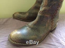 Bed Stu Women's Leather Boots, Size U. S 8