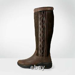 Brogini Winchester Waterproof Riding/Country Boots Standard/Wide Brown 36-42
