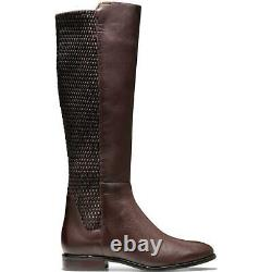 Cole Haan Womens Rockland Leather Knee High Tall Riding Boots Shoes BHFO 5864
