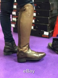 Equipride Long Riding Boots Leather Afsar Normal / Wide Calf Black & Brown