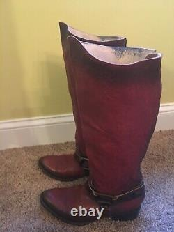 FREEBIRD By STEVEN PHILLY LEATHER RIDING BOOTS Sz 10RARE