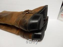 FRYE 77329 Harness Boots Leather Motorcycle Biker Riding Brown 15 Women 8.5 B