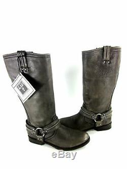 FRYE WOMEN'S MAXINE TRAPUNTO HARNESS BOOT Size Left 7.5/Right 8.5 MISMATCHED