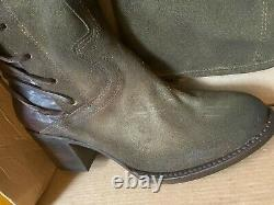 Freebird By Steven Women's Coal Over The Knee Riding Boot Shoe Olive Size 8
