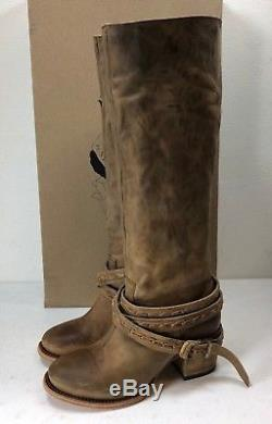 Freebird by Steven Women's Canon Riding Boots Tan Shoe Size 8 M