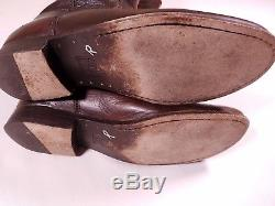 Frye Leather Calf High Brown Riding Boots Size 9 Women's
