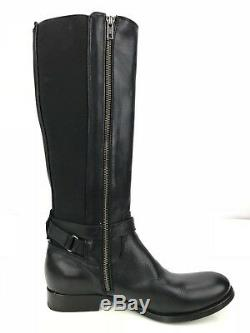 Frye Melissa Boots Gore Tex Leather Knee High Riding Boots Womens 9B US Black