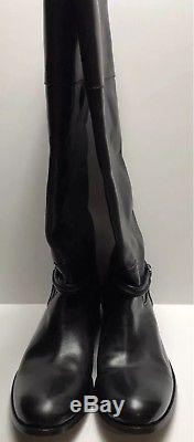Frye Melissa Seam Woman's Leather Riding Boots size 10 B Extended Wide Calf