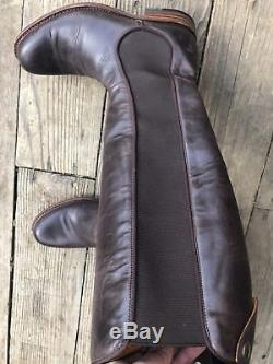 Frye Riding Boots Size 8 Womens Brown Worn twice Wide Calf accommodating