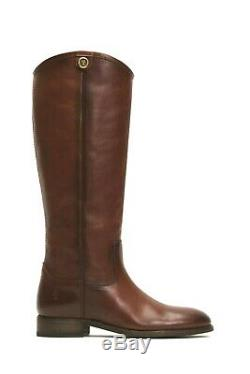 Frye Women's Melissa Button 2 Cognac Leather Riding Boots Size 7.5 New withBox