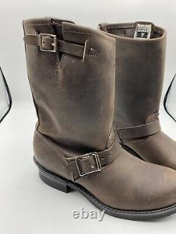Frye Womens Engineer Gaucho 77400 Riding Boots Size 9m Brown