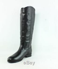 Frye Womens Melissa Black Extended Calf Fashion Boots Size 10 (720025)
