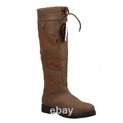 Gemma Ladies Country Boots-Equestrian Waterproof Riding/Walking/Hiking Tall Boot