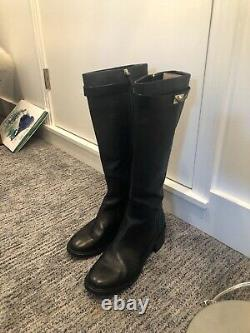 Givenchy Shark Tooth Tall Boots Size 41