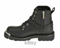 Harley-Davidson Women's Becky Riding Black Leather Motorcycle Boots D87048