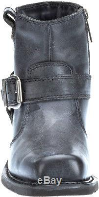Harley-Davidson Women's Newhall Motorcycle Riding Black Leather Boots D87139