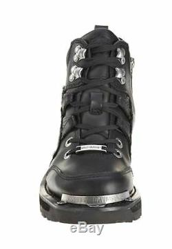 Harley-Davidson Women's TRACEY Lace Zip Leather Motorcycle Riding Boots D84496