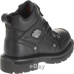 Harley-Davidson Women's Tracey Black 4-Inch Motorcycle Boots. D84496