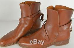 Henry Maxwell Women's Custom Made Ankle Boots Size 4.5B Leather Riding Boots