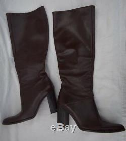 J Crew Womens Genuine Leather Boots Size 7 Brown
