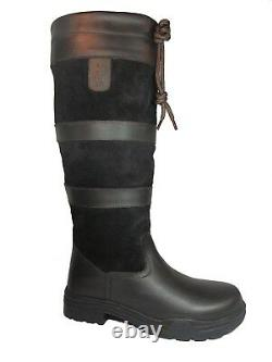KTY Country / Riding Boots Long Leather Walking Equestrian Ladies Mens Cheap