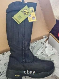Kanyon Gorse Xw X-rider Black Country/riding Boots Size 5 Extra Wide Calf