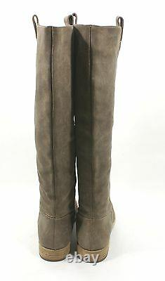 Kors By Michael Kors Beige Amby Knee High Riding Boots Size 10 M Suede $450