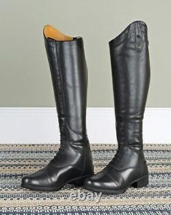 Moretta Gianna Long Leather Riding Boots