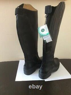 Mountain Horse tall riding boots, leather, women9, NWT
