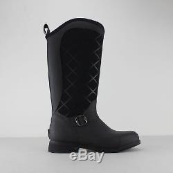 Muck Boots PACY II EQUESTRIAN BOOT Ladies Womens Slip On Wellington Boots Black
