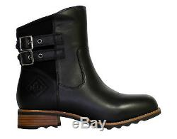 Muck Boots Verona Leather Waterproof Black Women's Riding Boots VRN-000