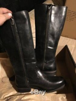 NIB D83606 harley davidson woman's Capstain leather riding boots 8.5 Willie G