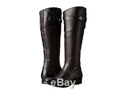 New in Box Frye Womens Molly Button Tall Black Smooth Vintage Leather Boot Sz 7