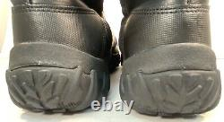 OAKLEY Womens Size 8.5 Black Leather Tall Side Zip Assault Tactical Riding Boots