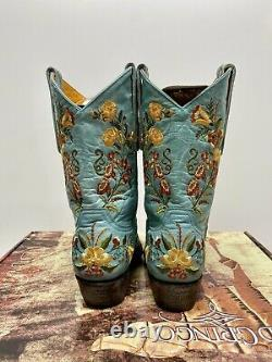 Old Gringo Jasmine L1286-10 10 Leather Cowboy Cowgirl Boots Size 8 Width B