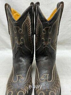 Old Gringo Women's 9 B Eagle Stitch Western Cowgirl Ride Rodeo Boots Snip Toe