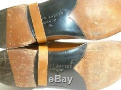 Ralph Lauren Women's Equestrian Horse Bit Riding Pull On Boots 9 B Made In Italy