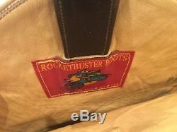 Rocketbuster Boots Ride Em womens cowboy boots size 8.5