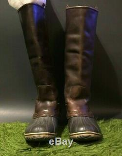 Sorel Slimpack Riding Tall Women's Boots Size 8.5 In Amazing Shape
