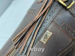 Spanish Boot Company Classic Spanish Riding Boots Brown Leather 5 (really 6)