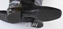 TOD'S New sz 41 10.5 Authentic Designer Womens Tods Riding Shoes Boots black