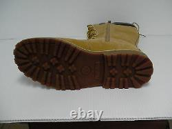 Timberland Trail Knee High Tall Wheat Boots Juniors Womens Girls size 7 youth
