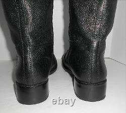 Tory Burch Joanna Riding Boots Black Leather Sz 10 Retail $495